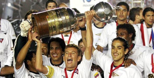 Liga de Quito, campeón Copa Libertadores 2008