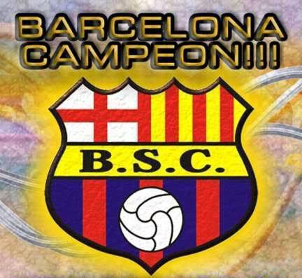Barcelona Campeón 2012