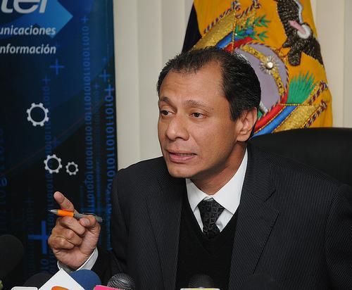 Jorge Glas binomio de Rafael Correa