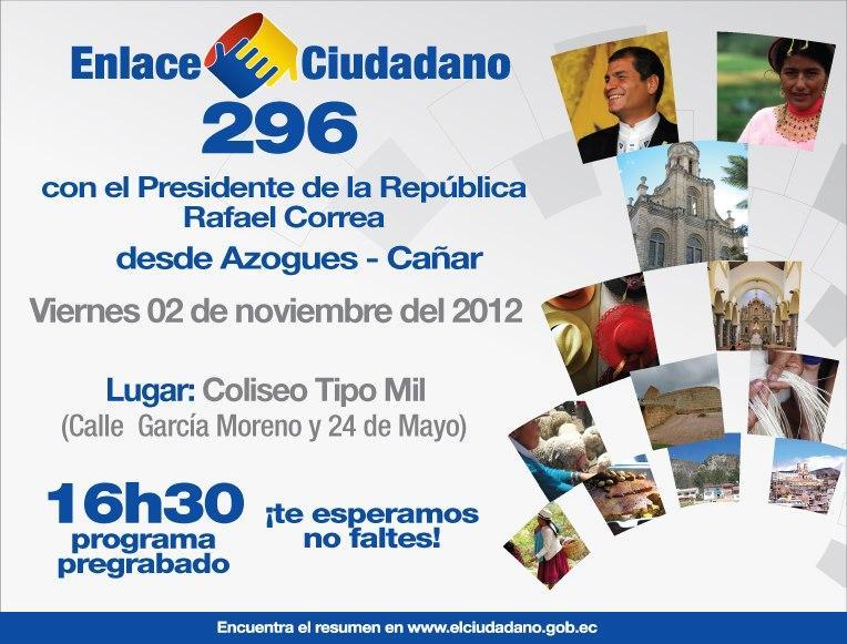 sabatina de Correa del 2 de noviembre 2012