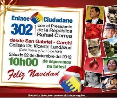 Sabatina de Correa del 22 diciembre