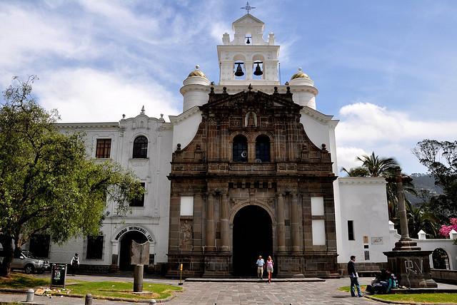 foto de la iglesia de Guápulo