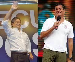 Rafael Correa vs Guillermo Lasso