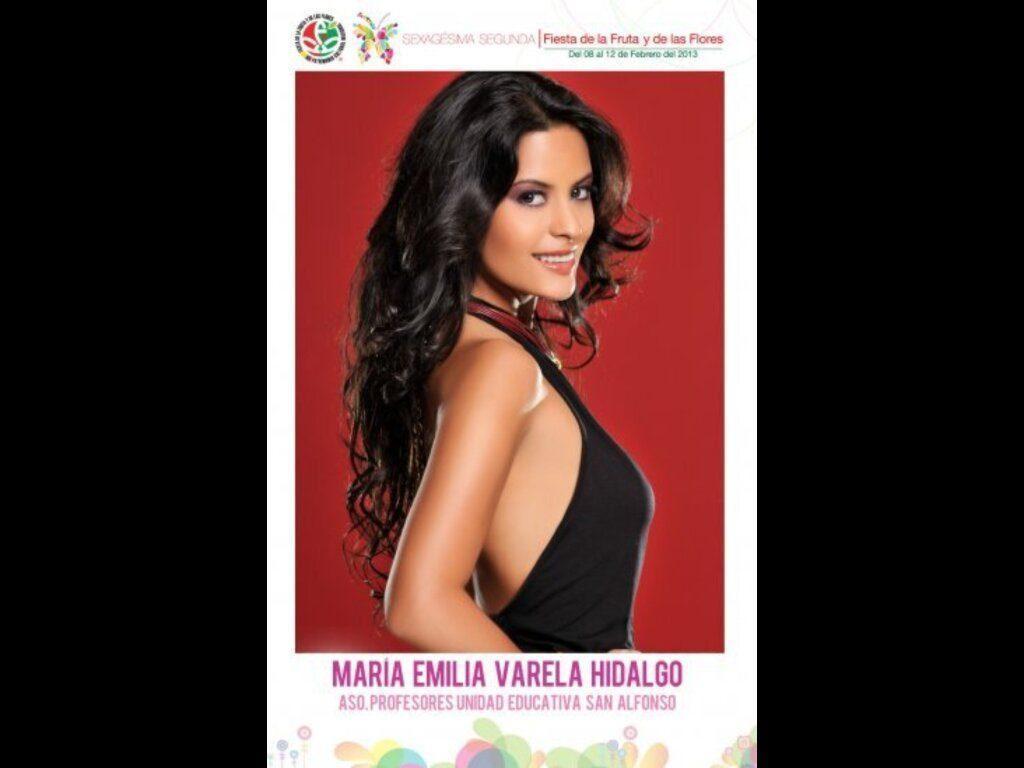 Reina Ambato Maria Emilia Varela
