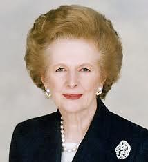 Margaret Thatcher muerte