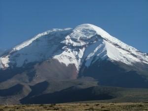 volcan chimborazo ecuador