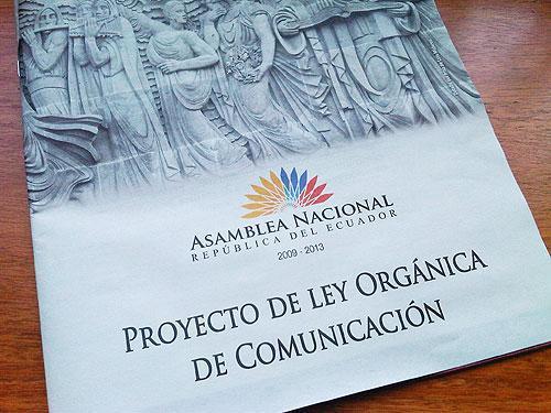 ley comunicacion ecuador