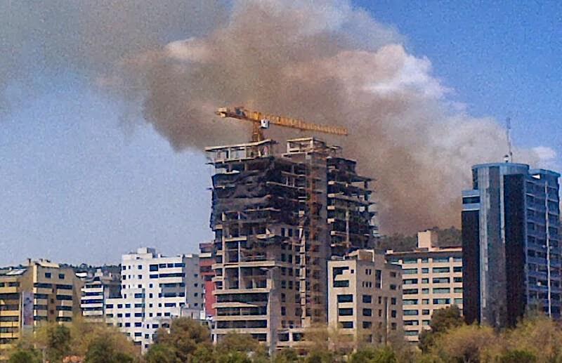 incendio parque metropolitano