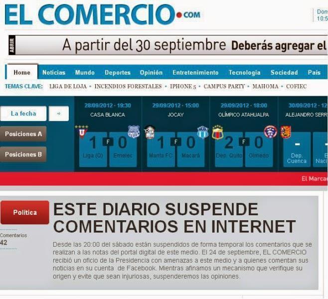 periodico el comercio noticias de ecuador
