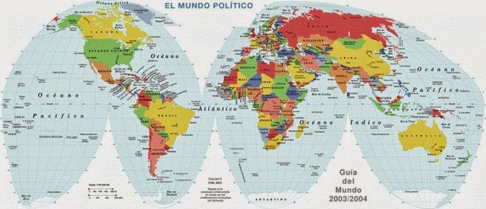 mapamundo con nombres