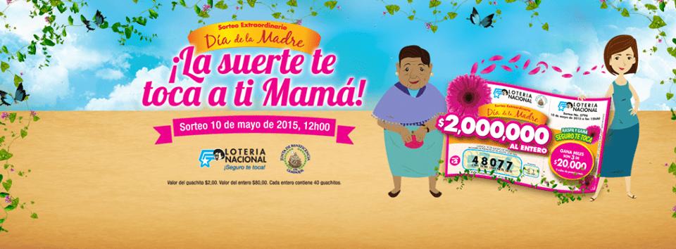 resultados lotría nacional 10 mayo 2015