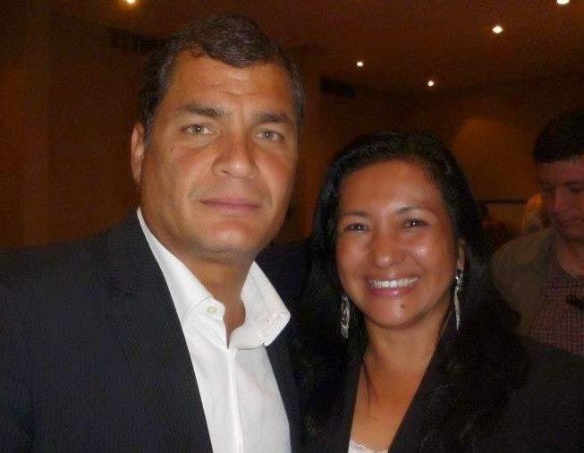 Esperanza Galván fue detenida