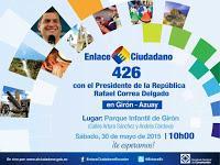 cadena sabatina de Correa 30 mayo 2015
