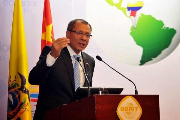 quien es el vicepresidente de Ecuador?