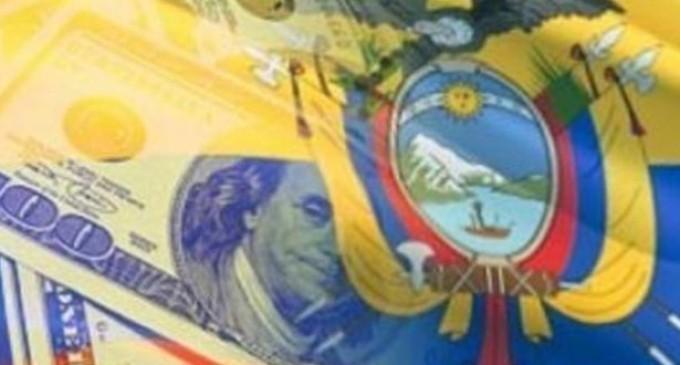la economia de Ecuador se contrae en el 2015
