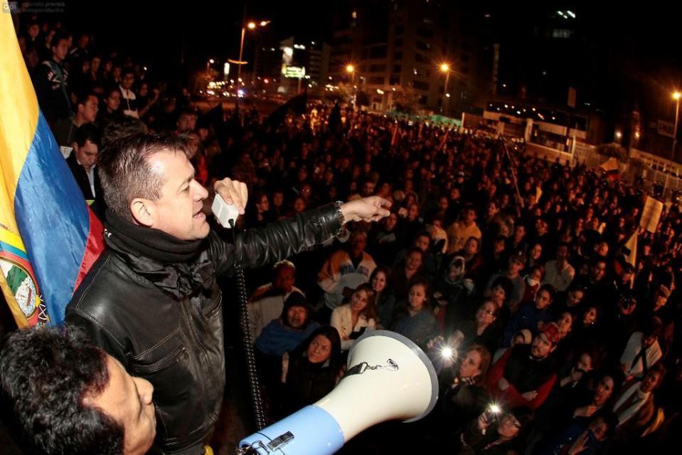 marchas protesta los shyris 9 julio 2015