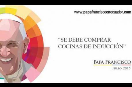 imagenes del papa francisco en Ecuador