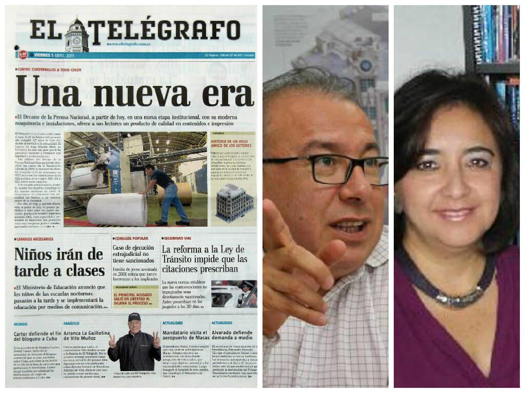 diario el telegrafo censura articulo monica mancero
