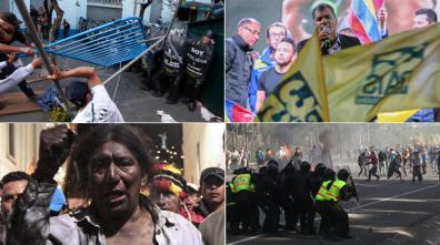 manifestaciones paro nacional 13 agosto 2015