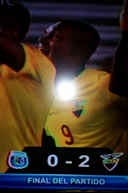 resultados partido ecuador argentina