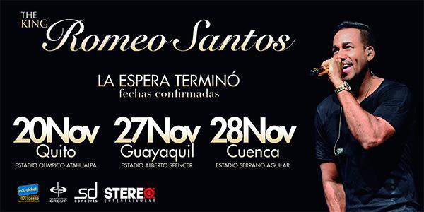 concierto romeo santos guayaquil