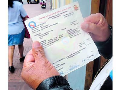 consultar impuesto predial 2016 en Quito