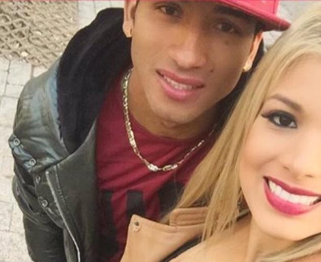 Maria Fernanda Pérez y Joao Rojas novios