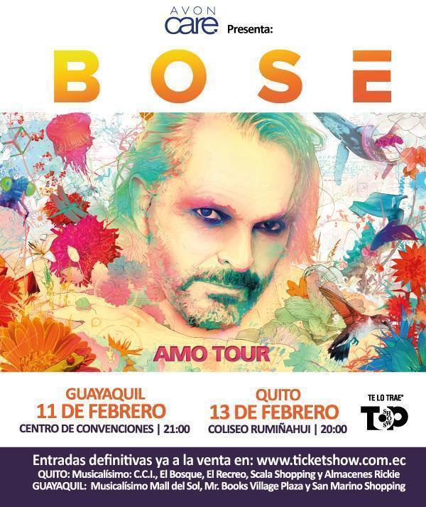 concierto miguel bose guayaquil 2016