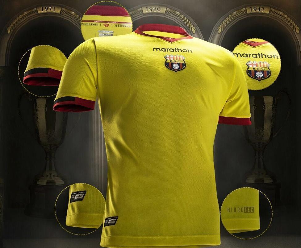 nueva camiseta barcelona ecuador