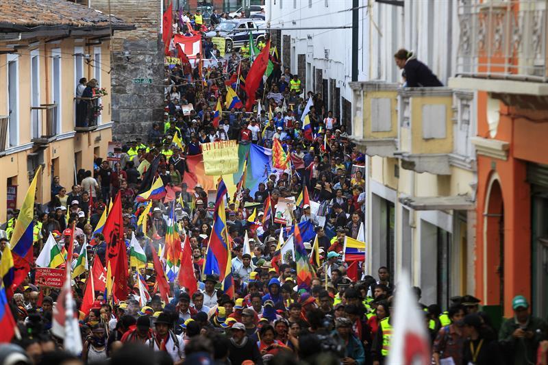 movilizaciones protesta quito