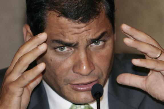 opiniones sobre Rafael Correa