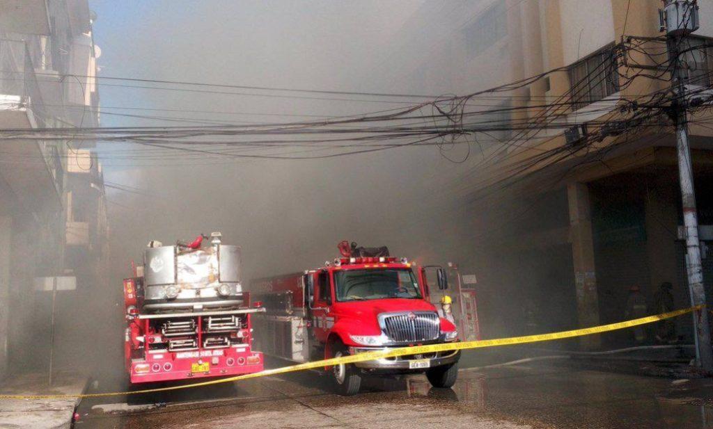 incendio guayaquil 23 febrero 2016