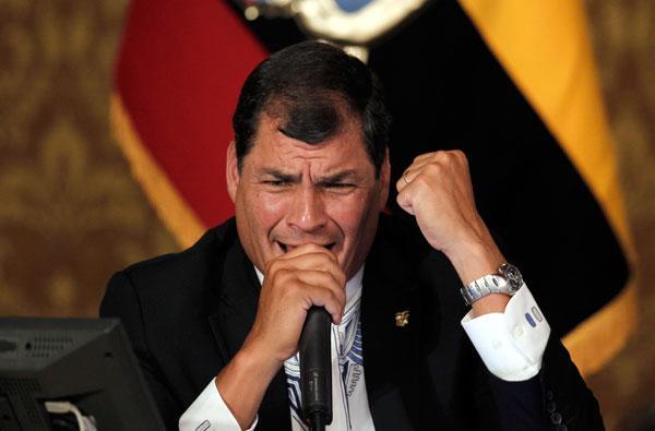 editoriales sobre Rafaeal Correa