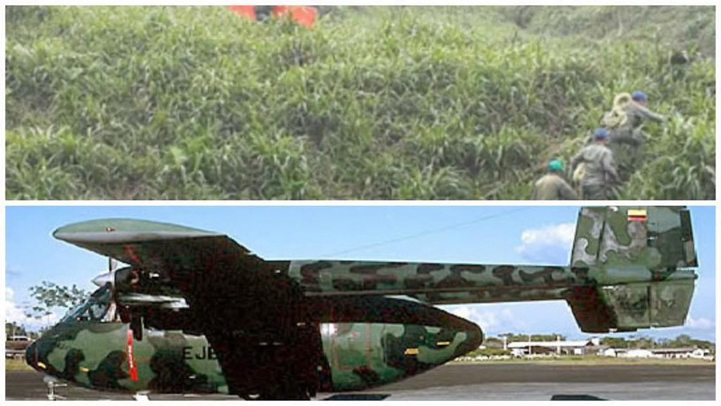 accidente avion ejercito ecuador