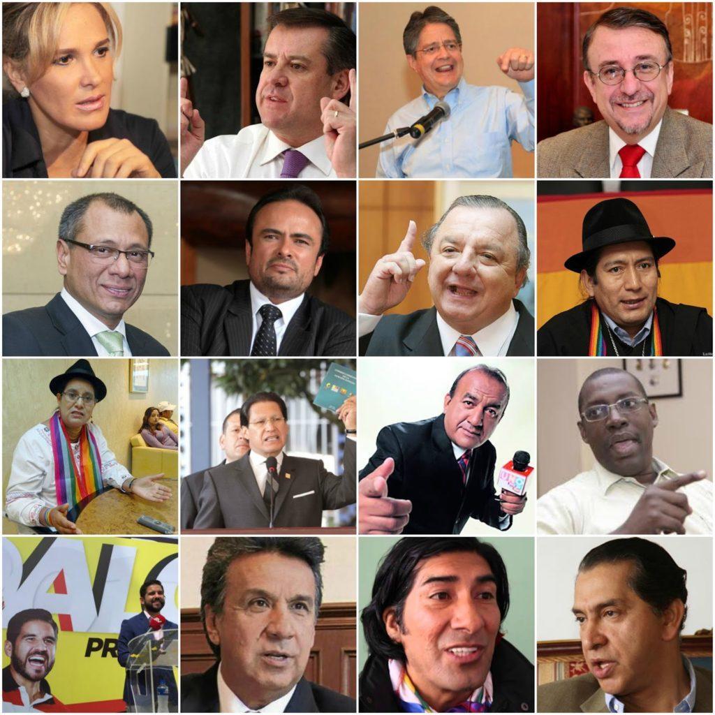 candidatos presidente ecuador 2017
