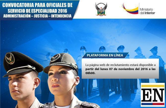 reclutamiento linea policia nacional 2017
