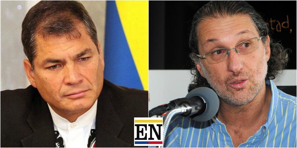 Rafael Correa enjuicia a Martín Pallares