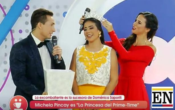 michela pincay combate