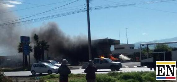 incendio gasolinera ambato