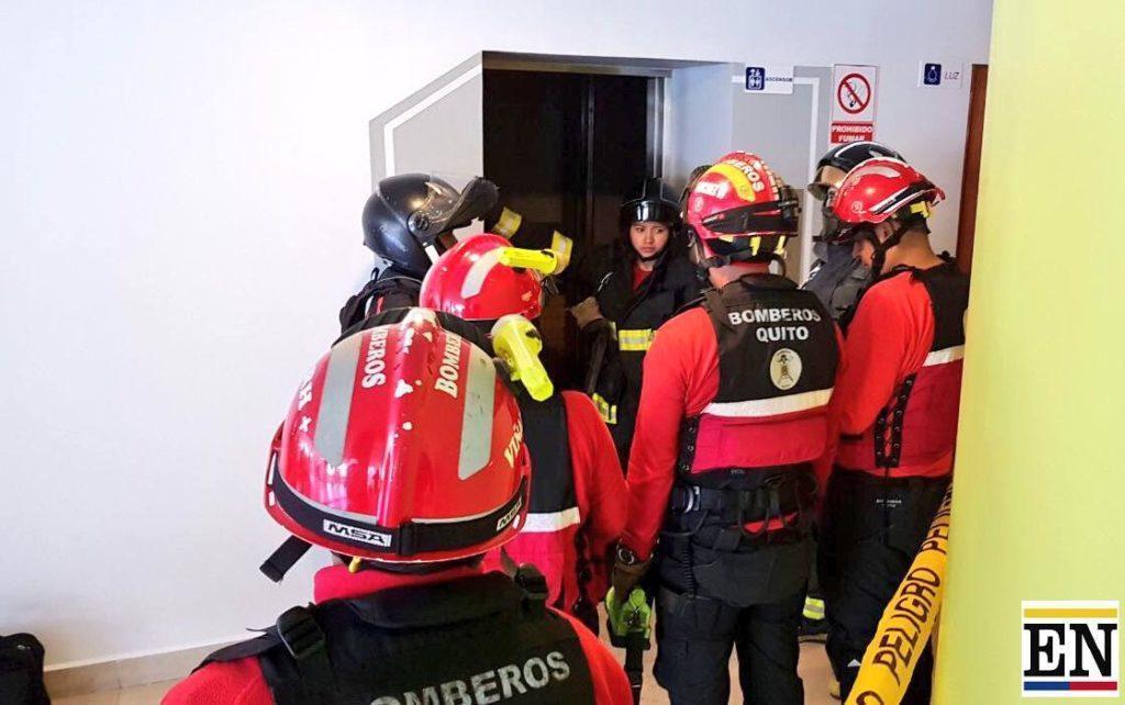 muerto colapso ascensor ponciano alto