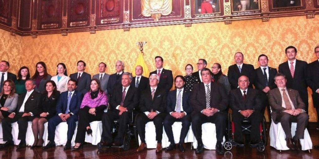 ministros ecuador