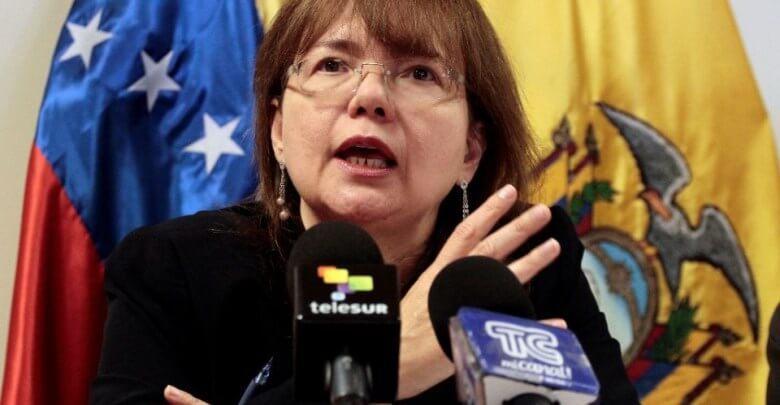 embajadora venezuela expulsada