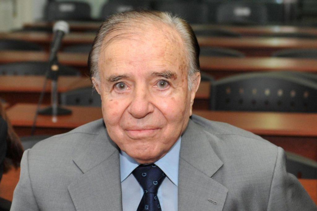 Carlos Menem condenado por fraude