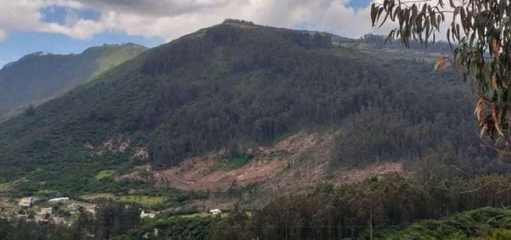 Jorge Yunda declaró en emergencia al Ilaló