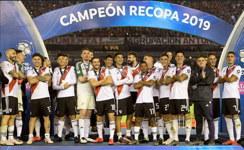 river plate campeon recopa sudamericana