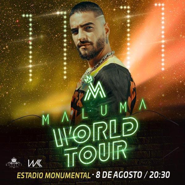 concierto de Maluma en Guayaquil