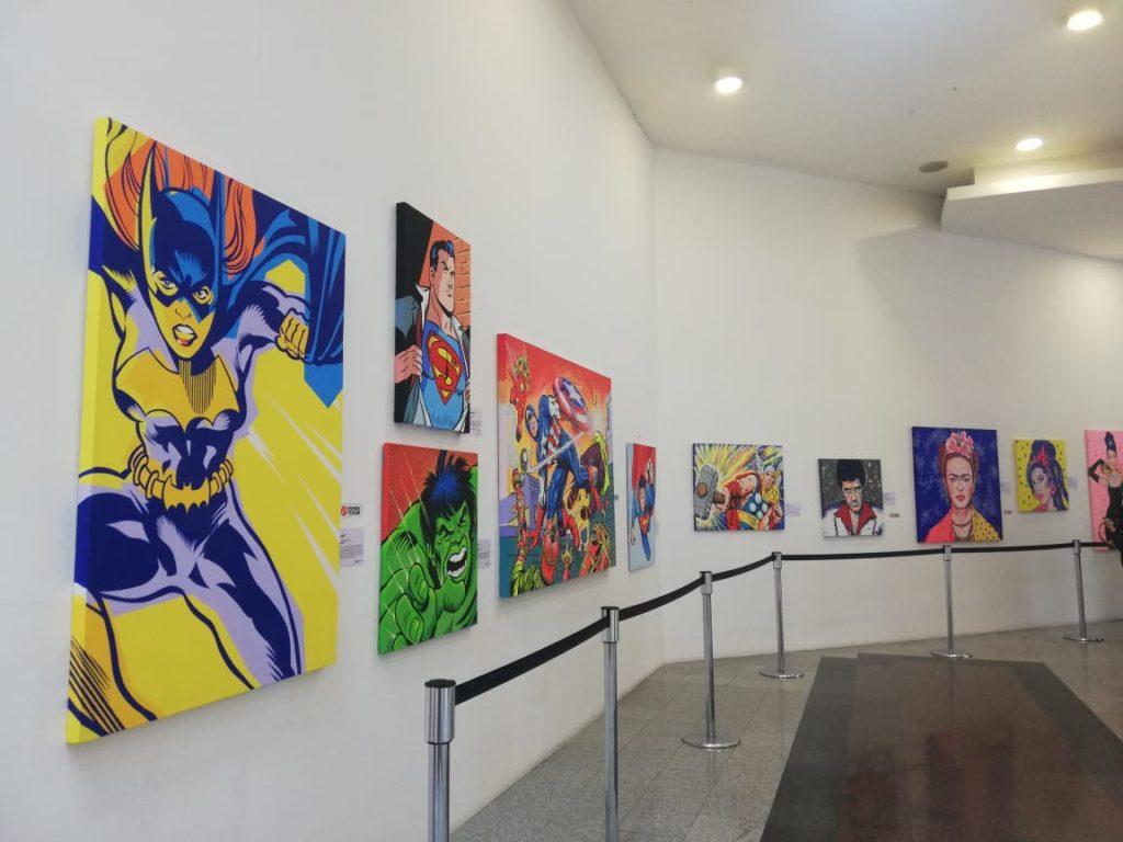 Exposición Museográfica de Pop Art en Mall El Jardín