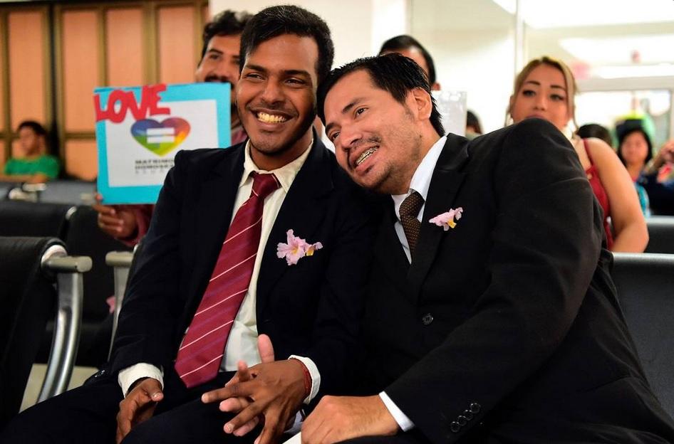 primer matrimonio entre hombres en Ecuador
