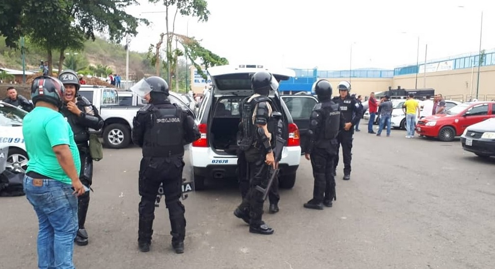 amotinamiento en cárcel de Portoviejo