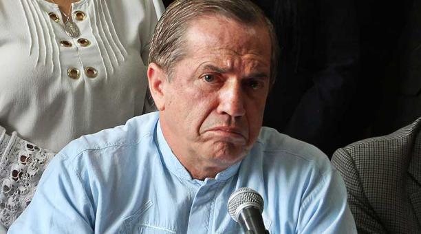 Niegan levantamiento de prisión de Ricardo Patiño